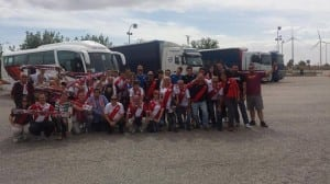 Rayo's fans on tour