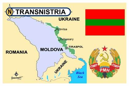 The Ghosts Of Soviet Present Transnistria - Transnistria map