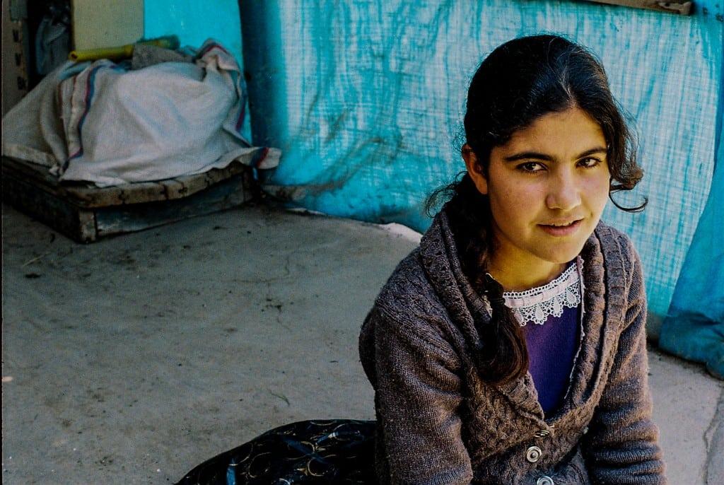 kurdish girl (van)