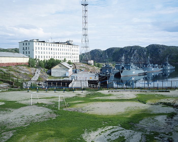 Polyarny, Murmansk region, 2013